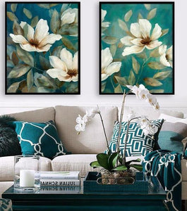 Floral Wall Decor - Paint by Number Kits
