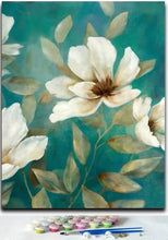 Load image into Gallery viewer, Floral Wall Decor - Paint by Number Kits