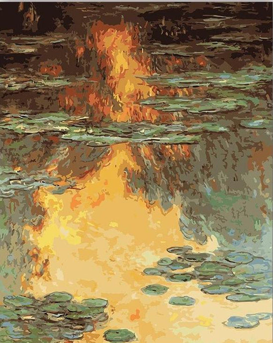 Impressionist Monet Paintings - Paint by Numbers