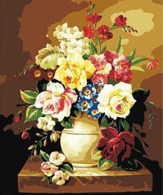 Load image into Gallery viewer, Large Paint by Numbers - Flowers