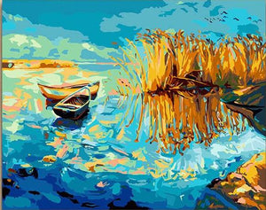 Boats, Ships and Oceans 12 Paint by Numbers
