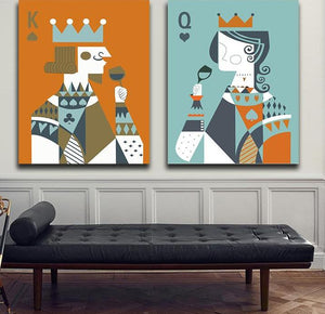 Poker King & Queen