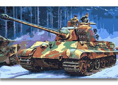 tank paint by numbers