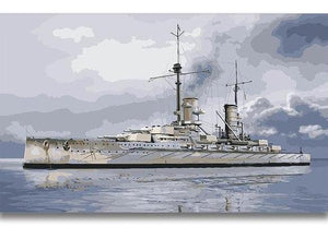war ship paint by number