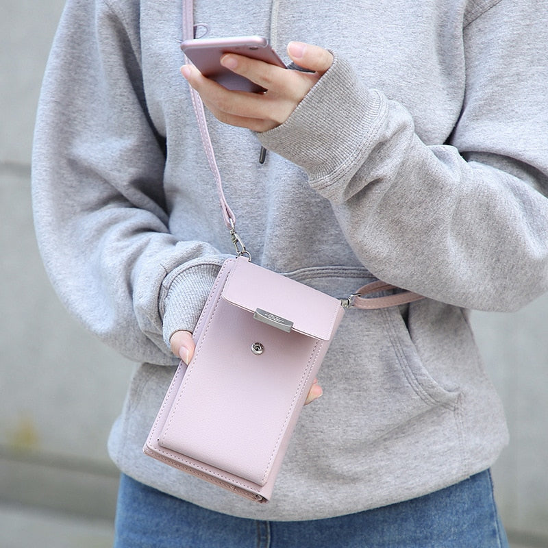 New Women Casual Phone Wallet Purse