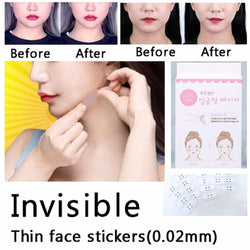 Invisible Thin Face Lift Stickers - 40 Pcs/Set