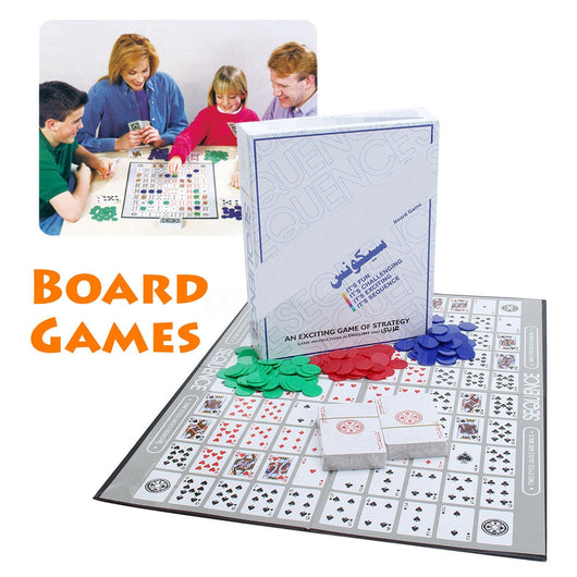 Family Sized Sequence Game
