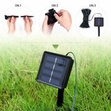 Easy To Carry 100 LED Solar/Battery Light Outdoor