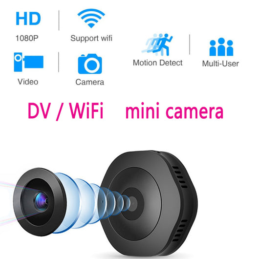 Magnetic Micro Night Vision Wifi Camera with Motion Sensor
