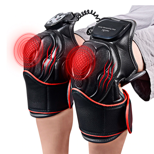 Knee Pain Relieving Magnetic Heat Vibration Massager