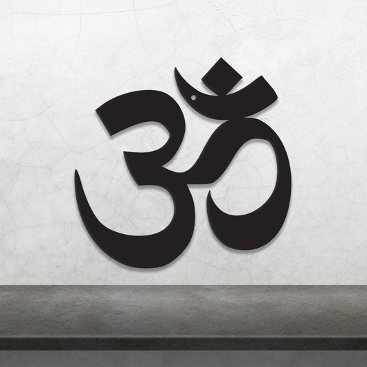 Om Symbol - Metal Wall Art/Decor