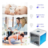 Handheld Mini Portable Air Conditioner Humidifier Purifier
