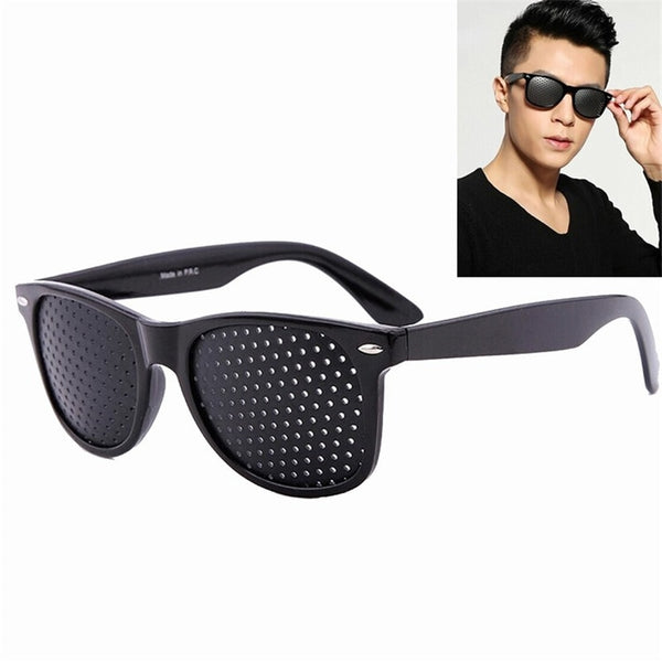 Corrective Pinhole Glasses - for Eye Focusing Problems
