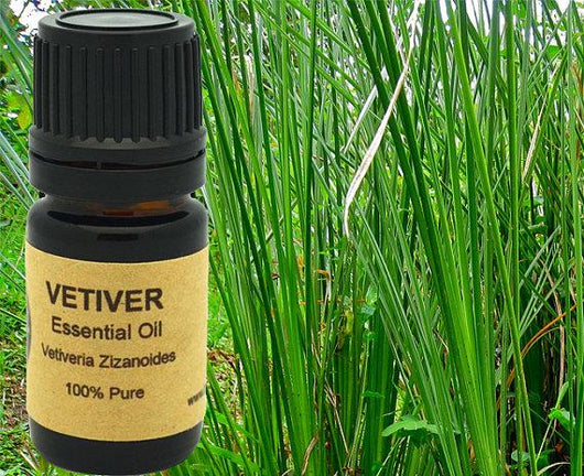 Vetiver Essential Oil 5ml, 10ml or 15 ml.
