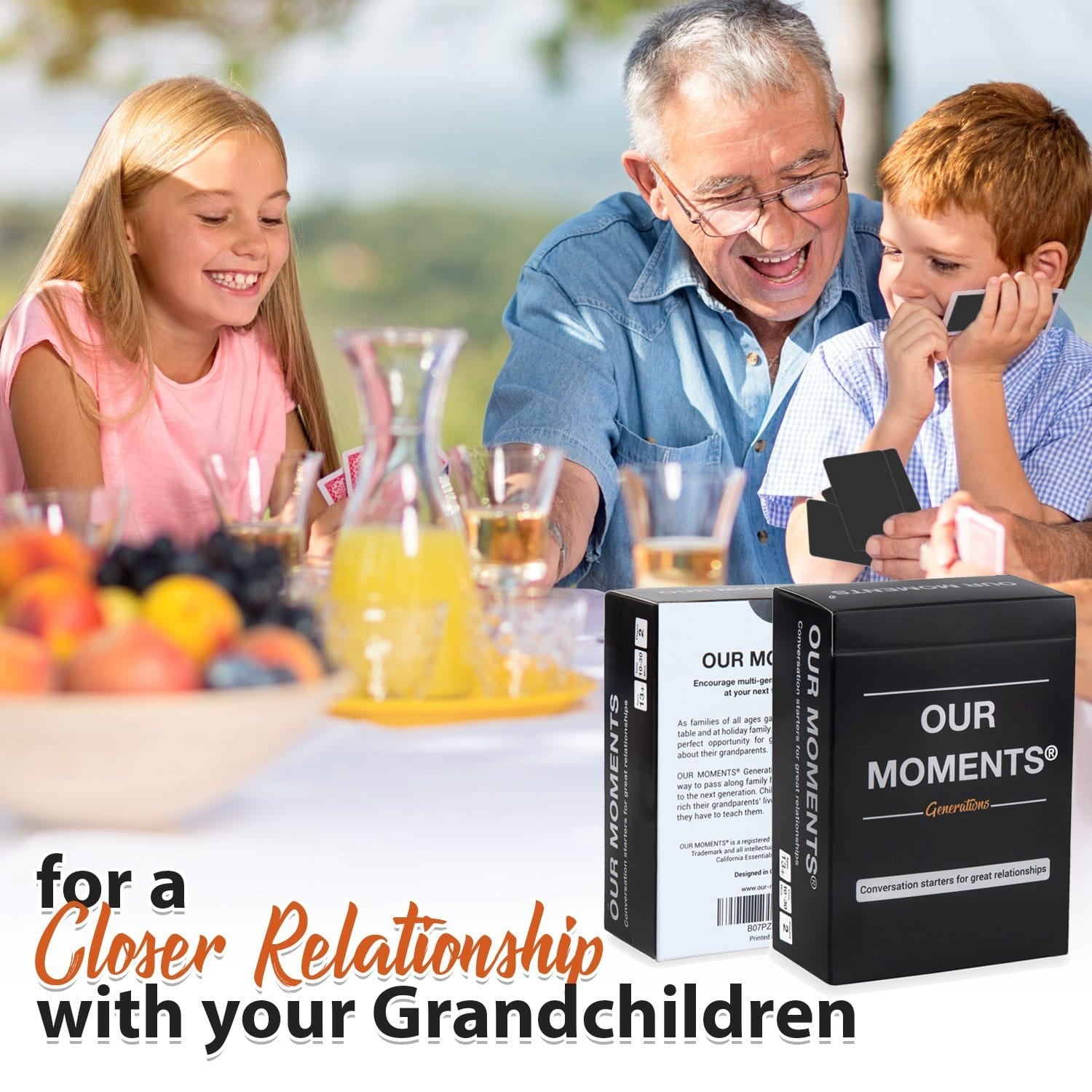 Generations Edition - Our Moments - Conversation Starters For Great Relationships