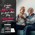 Couples Edition - Our Moments - Conversation Starters For Great Relationships