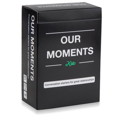 Kids Edition - Our Moments - Conversation Starters For Great Relationships