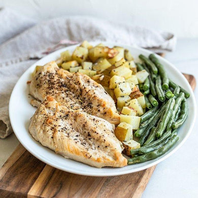 Grilled Herb Chicken Breasts- Feeds 4