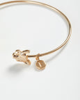 Gold Fox Bangle