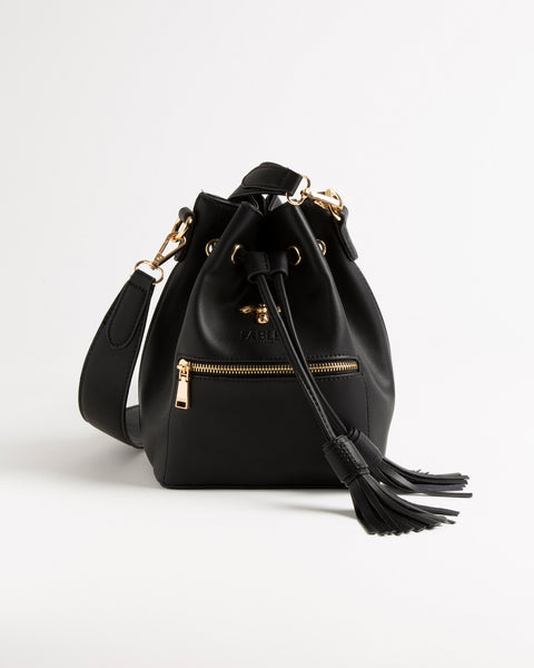 Black Rose Bucket Bag