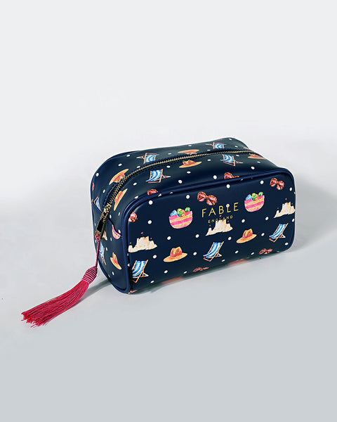 Beach Boxy Cosmetic Bag