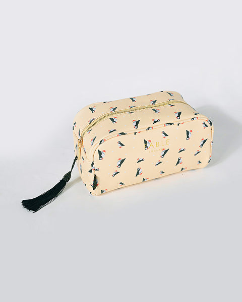 Puffin Boxy Cosmetic Bag
