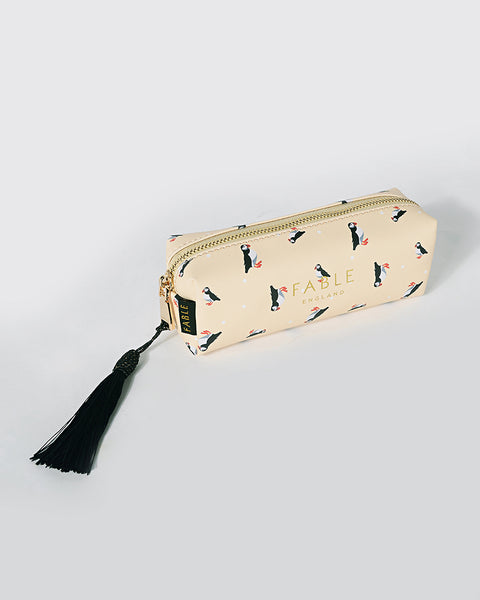 Puffin Pencil Case/Makeup Bag