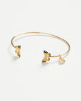 Enamel Butterfly Bangle