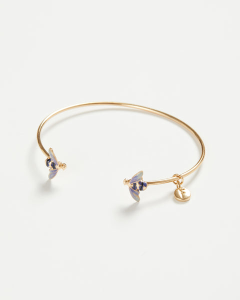 Enamel Bee Bangle
