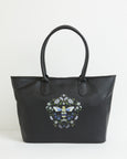Black Signature Bee Tote