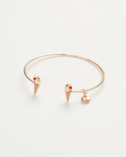 Enamel Ice Cream Bangle