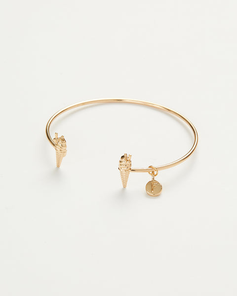Gold Ice Cream Bangle