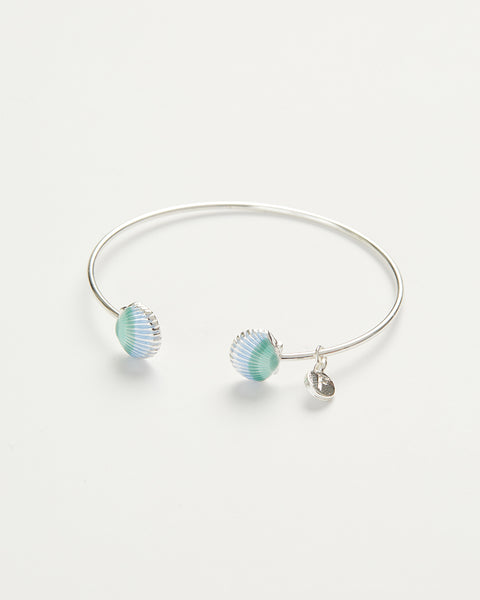 Enamel Shell Bangle