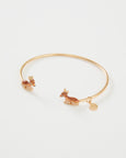 Enamel Fawn Bangle