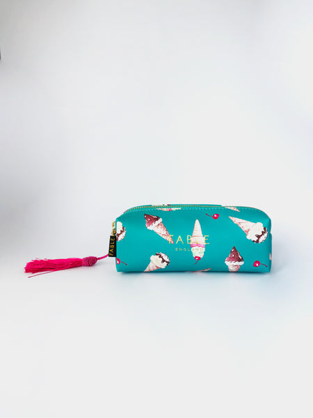 Ice Cream Pencil Case/Makeup Bag