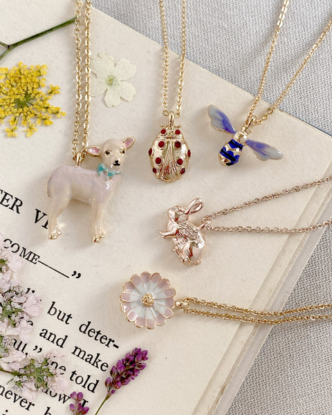 Little Lamb Necklace Set