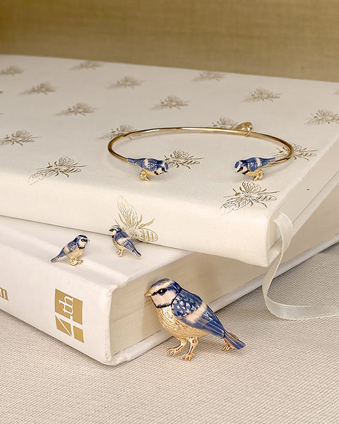 Blue Tit Gift Set with Gift Wrapping