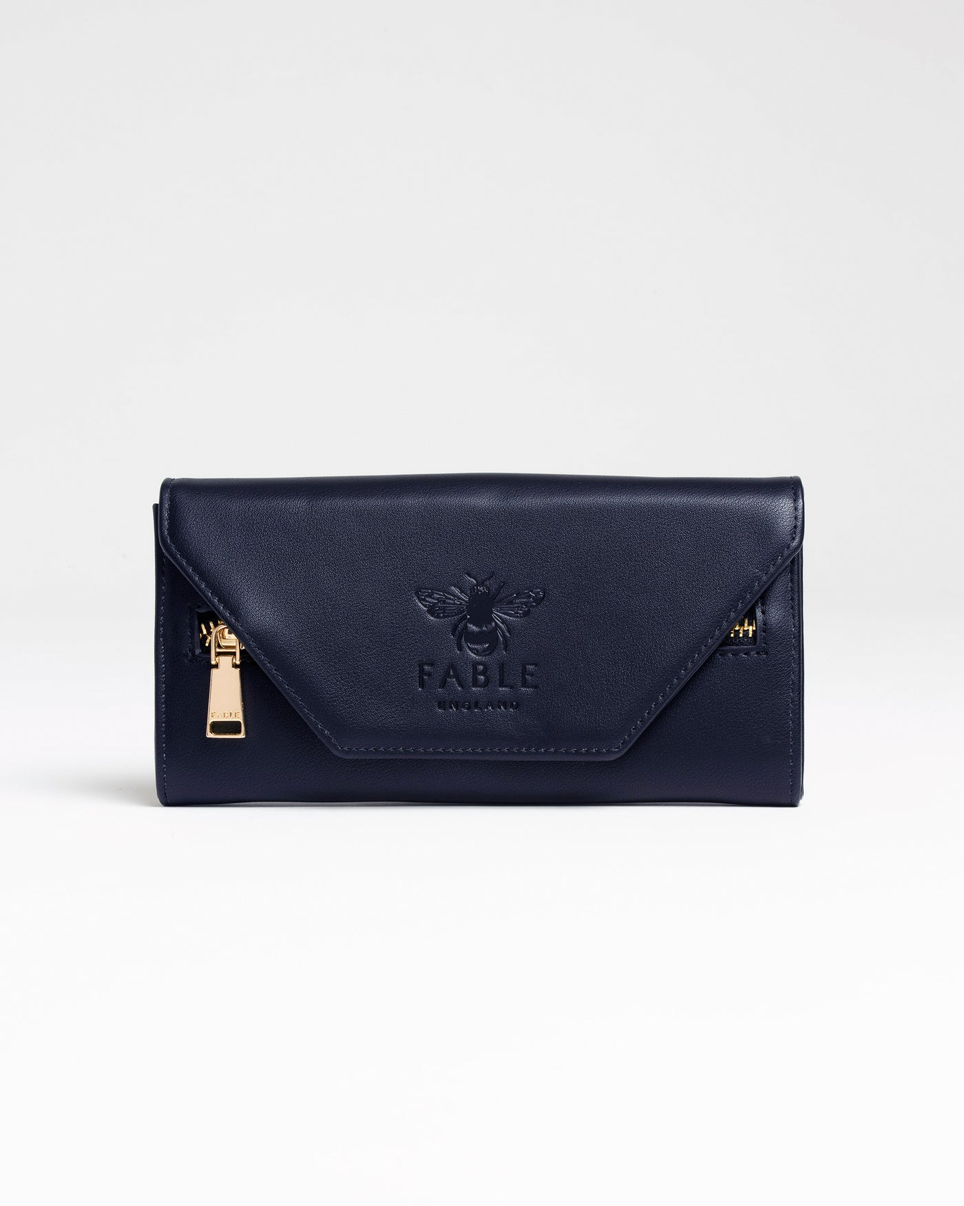 Navy Poppit Sands Large Purse
