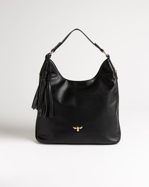 Black Honeysuckle Hobo Bag