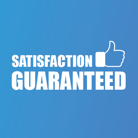 All of our products are guaranteed to work or your money back. We stand 100% behind our products.