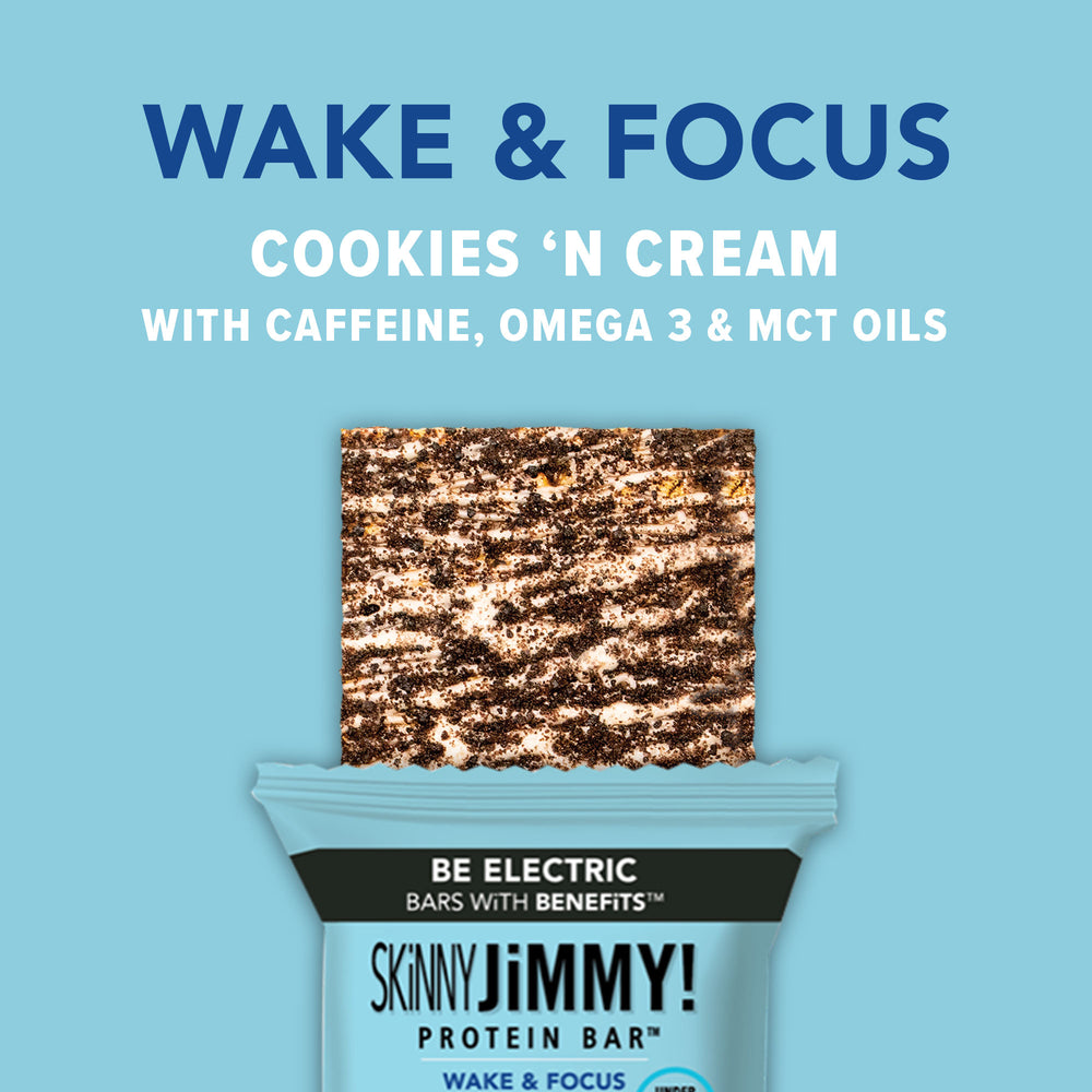 SKiNNY WAKE & FOCUS <br>(Cookies 'N Cream)