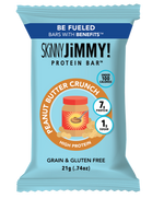 SKiNNY JiMMY! Peanut Butter Crunch Low Calorie Protein Snack Bar