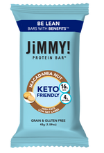 JiMMY! Macadamia Nut Keto Friendly Protein Bar