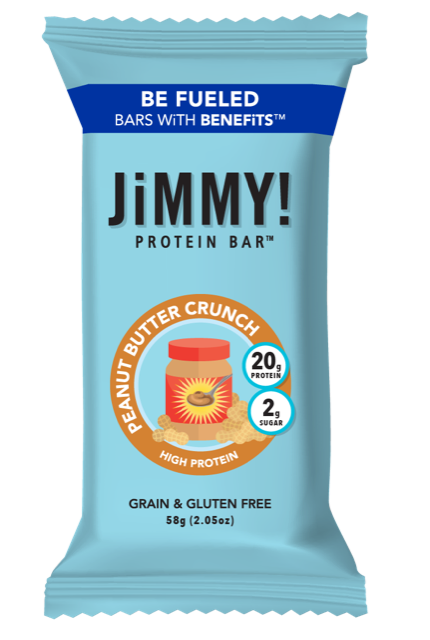 JiMMY! Peanut Butter Crunch Protein Bar
