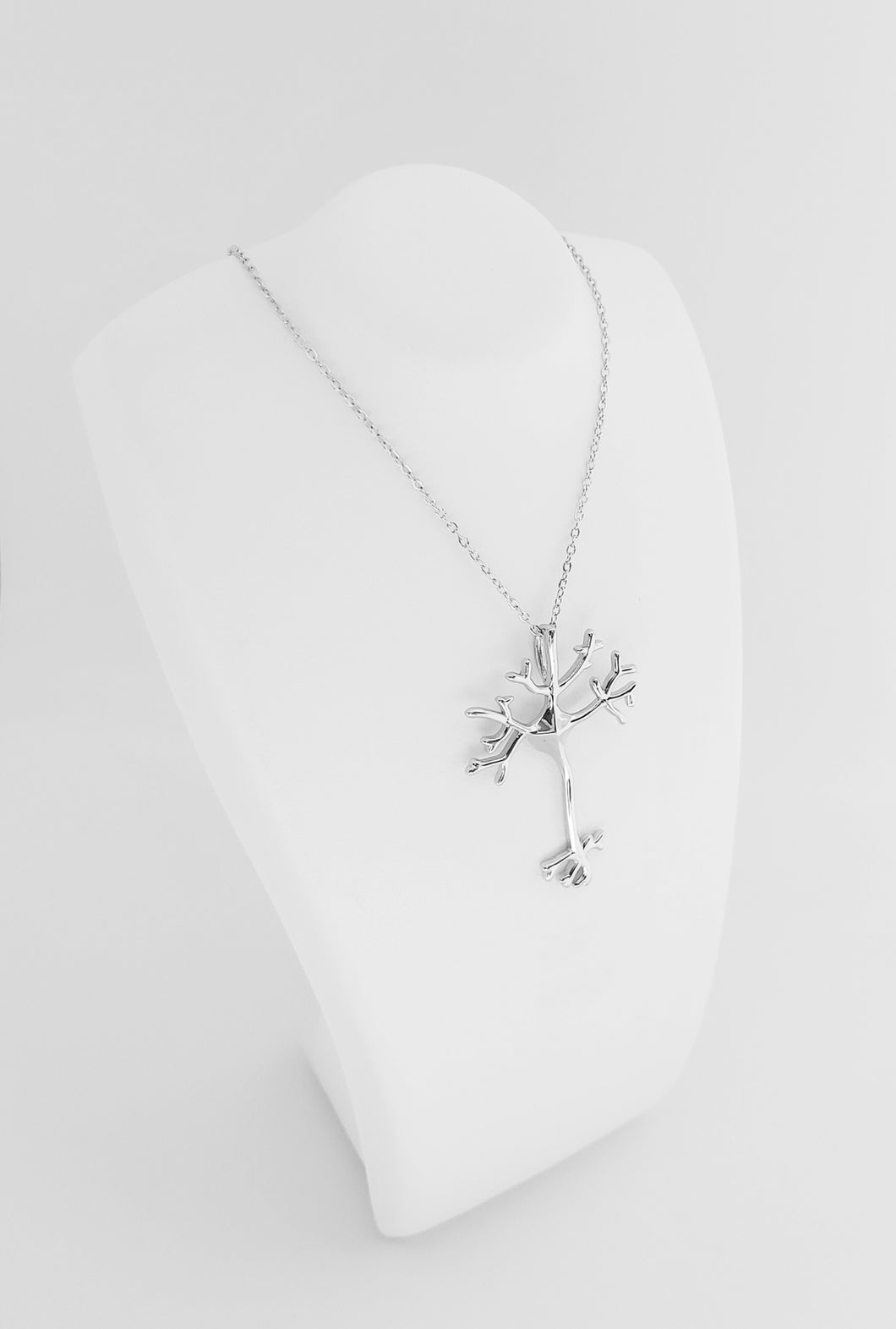 Sterling Silver Neuron Necklace
