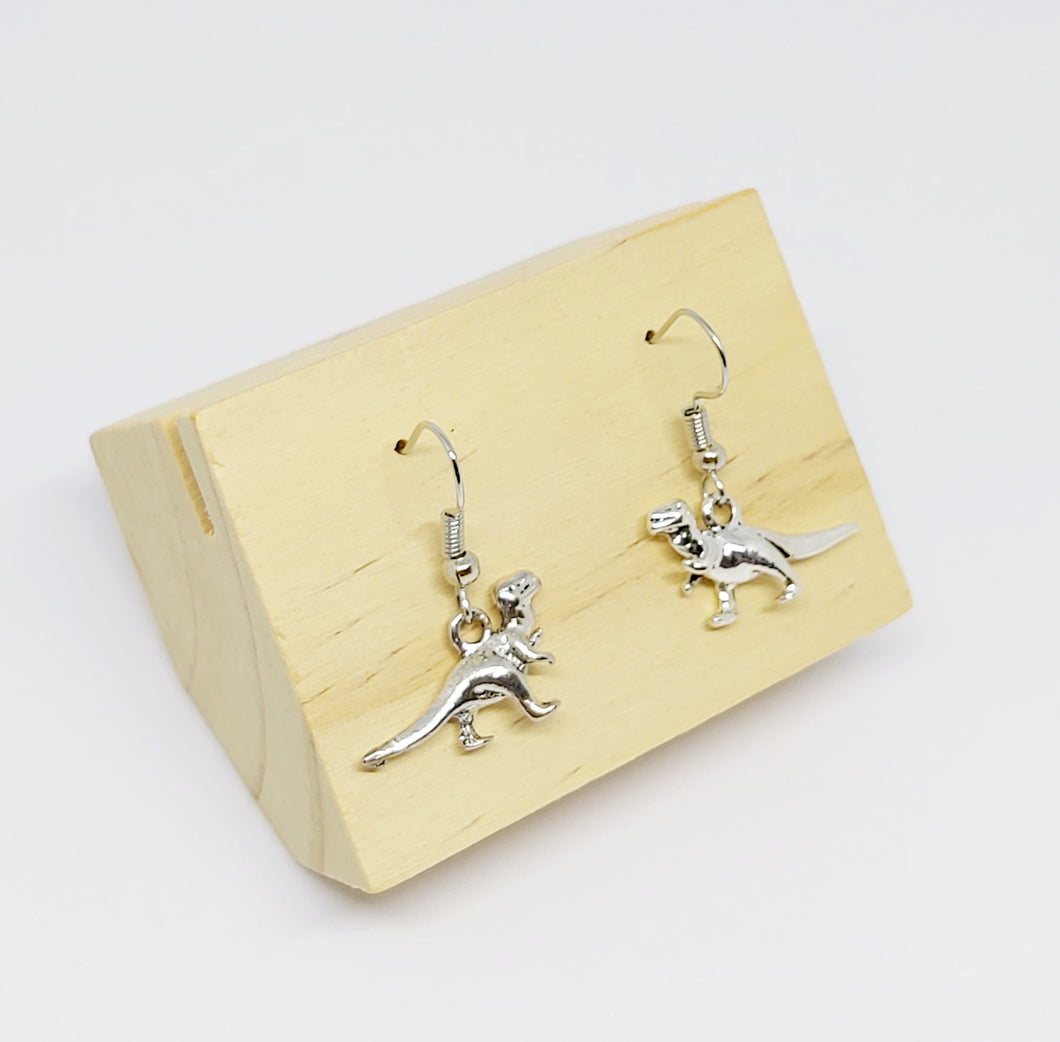 Small Dinosaur Earrings