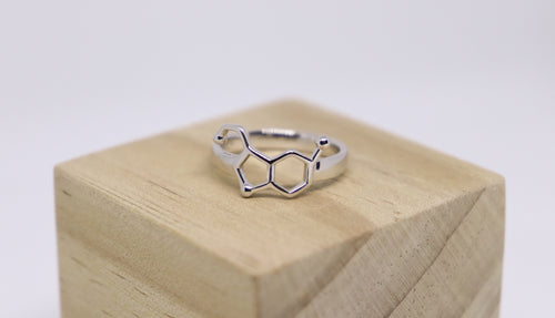Sterling Silver Serotonin Ring