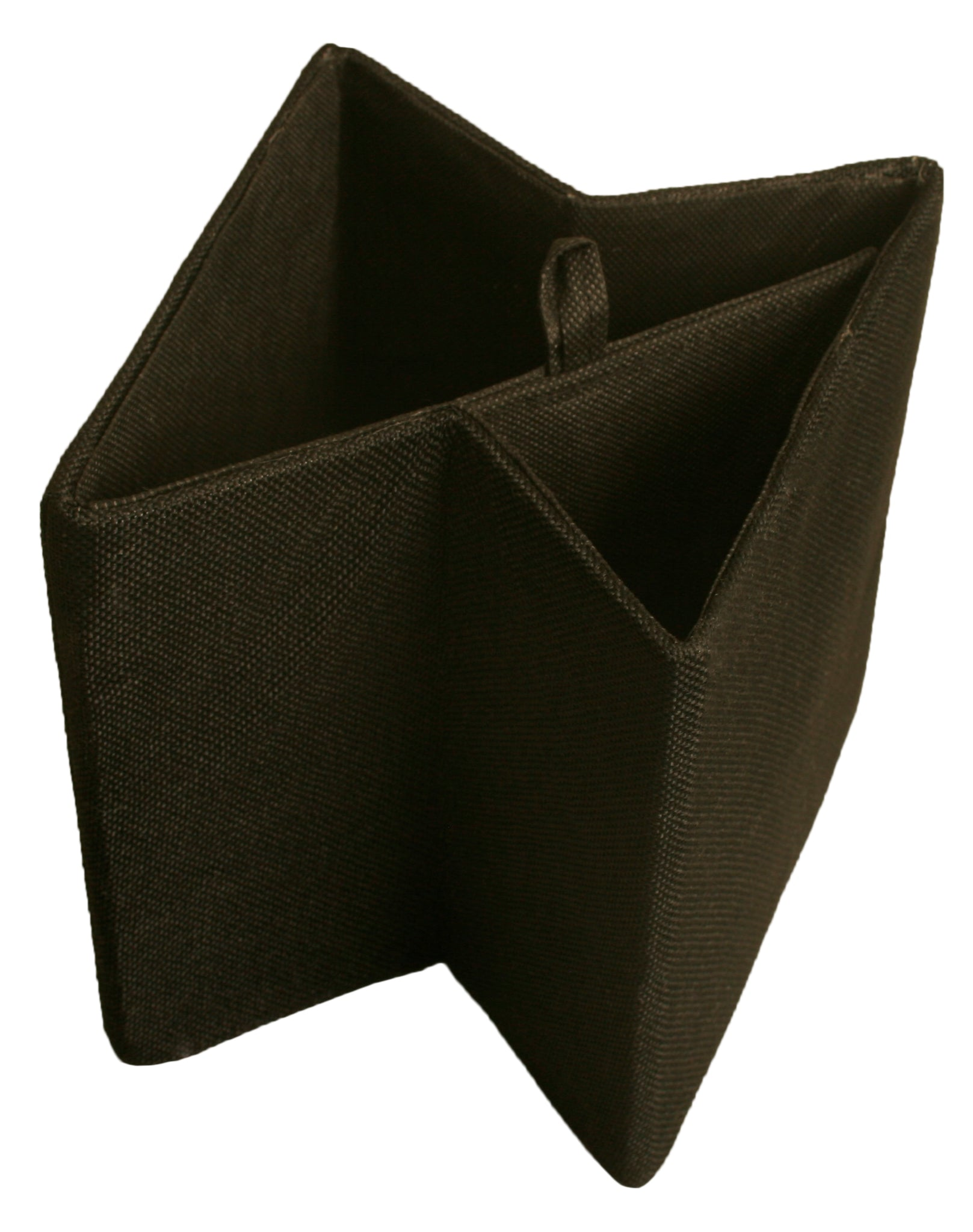 "7"" Black Collapsible Storage Cube"