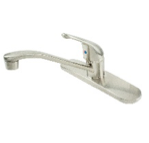 One Handle Brushed Nickel Kitchen Faucet