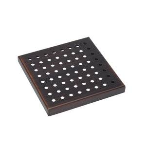 SQUARE  SHOWER DRAIN ZERO GRATE PATTERN -